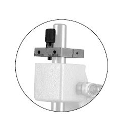 prensa de cremallera Bergeon 6173-B tope micrometrico