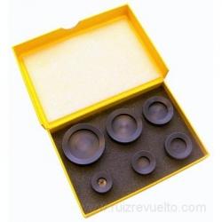 tases bergeon 6527-6CP juego 6 pzas PVC huecos
