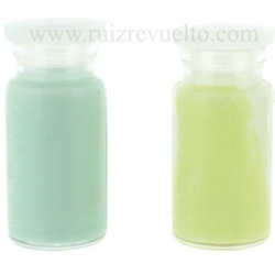luminoso con mezcla verde