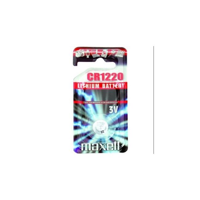 LITIO CR1220 BLISTER 1 UN. CAJA 10 BLISTER