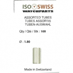 bolsa 100 tubos de corona dm 1.80 mm