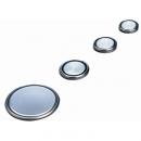 Óxido de plata-botón-reloj